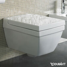 VASO SOSPESO 2ND FLOOR DURAVIT CON SEDILE SOFT-CLOSE