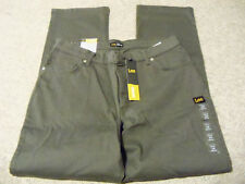 Lee relaxed fit straight leg size 14 M stretch new with tags
