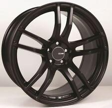 18x8 Enkei TX5 5x112 +45 Black Rims Fits audi A3 TT VW Jetta