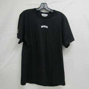 Helmut Lang Unisex US Men's M/ Wms L Impress Your Parents T-Shirt Black