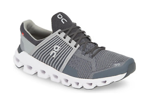 On Cloud Mens Cloudswift Running Shoes Size 11 ROCK/SLATE