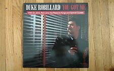Duke Robillard, You Got Me Record Lp, 1988 Rounder Records Near Mint Vinyl