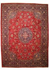TRADITIONAL ANTIQUE PERSIAN Wool  9.8 X 13.5 HANDMADE RUGS ORIENTAL RUG CARPET