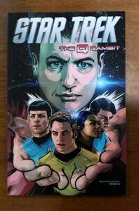 STAR TREK Vol. 9 The Q Gambit TPB GN SC OOP 2015 IDW Comics Johnson, Shasteen