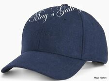 CK Calvin Klein  BaseBall Cap Ball Hat Military NWT  One Size  C.K. Navy Wool