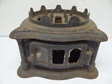 Antique Black Metal 1880 Res Out #3 Home Miniature Stove Burner Kerosene? Parts
