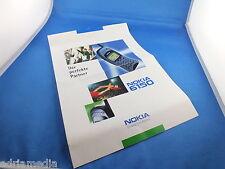 Nokia Neuheiten Katalog Handy 6150 Infoblat Werbe Prospekt  Zubehör Autotelefon