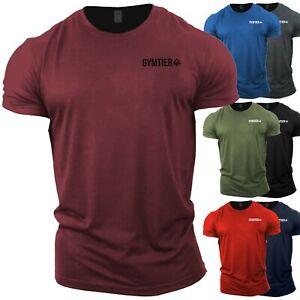 Men's Crossfit T-Shirt | Gym Top | Bodybuilding Clothing Vest Stringer Training