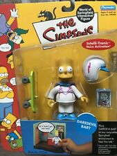 THE SIMPSONS World of Springfield WOS Daredevil Bart SERIES 8 Action Figure NIB