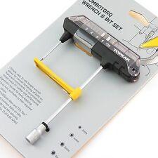 Topeak TPS-SP07 Clé Dynamométrique Combo / Combotorq Wrench & Bit Set