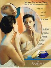 PUBLICITE ADVERTISING 025  1996  GUERLAIN   cosmétiques  ISSIMA