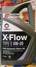 COMMA X-FLOW TYPE E 0w20 Fully synthetic oil petrol Hybrid Electric vehicles 5L
