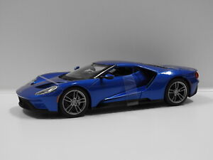 1:18 2017 Ford GT (Blue) Maisto 31384