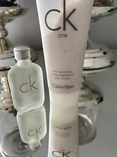 Brand new 20ml with body lotion CK one set