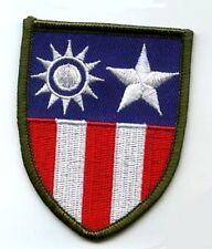 Seconde Guerre Mondiale Armée Américaine de L'Air Avg Flying Tigres Chine Burma