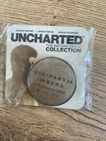 Uncharted: The Nathan Drake Collection Rare Promo Pin Badge, Very Collectable!!