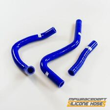 Manguera de refrigerante radiador carrera Dept Silicona Kit Azul para Suzuki GSX-R 1000 01-04