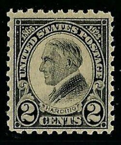 1923 Black Harding Perf 10 #612 MNH