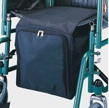 Deluxe Under Seat Wheelchair Zip Storage Bag Ideal for Shopping Waterproof Nylon