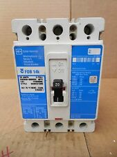 Cutler-Hammer Westinghouse Breaker FDB3020L 20A 20 A Amp 3P 250 VDC 600 VAC New