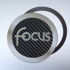 Magnetic Tax disc holder fits ford focus st rs zetec titanium c-max ghia silver
