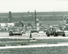 Vintage 8 X 10 1969 Sebring MGB, Lola, Ford GT40, Porsche, MGB Auto Racing Photo