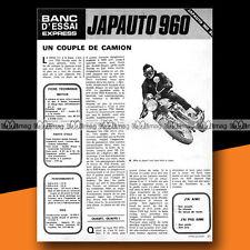 ★ JAPAUTO 950 SS (Base HONDA CB 750) ★ 1973 Essai Moto / Original Road Test #a25