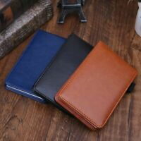 Pocket Planner A7 Notebook Notepad Note Book Leather Cover Business Diary Memo