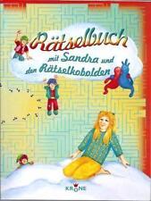 Rätselbuch mit Sandra und den Rätselkobolden - Pleis, Eva - NEU