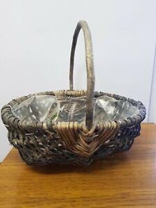 Home Decor/Display/Storage Shopping Willow Seagrass Basket Shopper, Fancy Dress