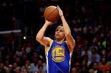 Stephen Curry Unsigned 12x18 Golden State Warriors (5)