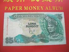 RM5 Jaafar sign with cross & silver thread - NN 6386214 (VF)