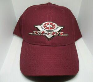 V Star motorcycles 100% Cotton Cap Hat Quality Embroidered Design rider biker
