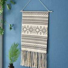 Macrame Woven Wall Hanging Tapestry Boho Chic Bohemian Geometric home Decor