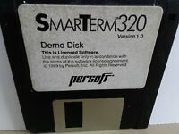 """ITHistory (1989) IBM Software: SMART TERM 320 Demo (Persoft)  3.5"""" No Manual"""