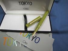 OMAS TOKIO COLLEZIONE SOTSASS PENNA STILOGRAFICA IN  RESINA VERDE (271)
