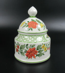 Villeroy & Boch Porzellan Zuckerdose Serie Summderday V&B Porcelain Sugar Pot