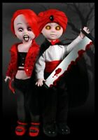 Living Dead Dolls by Mezco -- The Great Zombini and Viv -- Tower Rec Exclusive