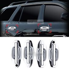 Chrome Door Catch Handle Molding Garnish Cover for HYUNDAI 2002-2005 Santa Fe