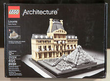 LEGO Architecture The Louvre (21024) New Sealed Box