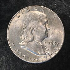 1952-D Franklin Half Nearly Uncirculated - High Quality Scans #G190