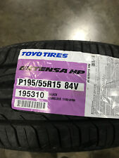 2 New 195 55 15 Toyo Extensa HP Tires
