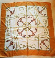 SALE!  AUTHENTIC LARGE 100% SILK SCARF BY GUCCI