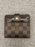 Authentic LOUIS VUITTON SE Trunk Monogram Zip Wallet EUC