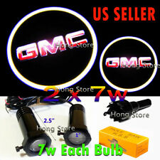 2x 7w GMC Ghost Shadow Laser Projector Logo Cree LED Light Courtesy Door Step