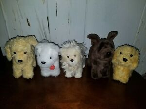 American Girl Doll Pet Dogs Coconut Apricot Honey Chocolate Chip Pomeranian t5