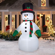 10ft Giant Prelit Snowman Airblown Inflatable Outdoor Merry Christmas Decoration