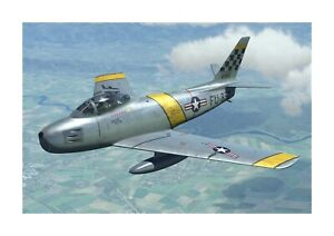 USAF F86 Sabre (1) A4 picture photograph poster. Choice of frame.