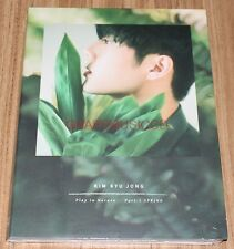 KYUJONG Kim Kyu Jong SS501 Play in Nature Part.1 SPRING SINGLE ALBUM CD SEALED