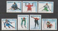 Guinea-Bissau - 1988, Winter Olympic Games, Calgary set - MNH - SG 1005/11